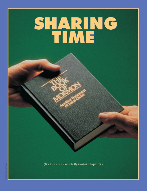 Sharing Time Poster - January 2013